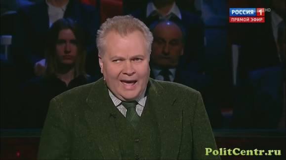 Российский либеральный политолог заявил, что будь он моложе, пошел бы в «АТО» воевать против Донбасса (Видео)