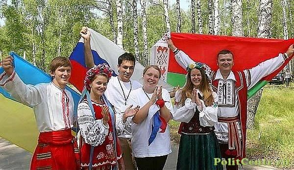 Так что мы имеем в реале, 3 русских государства, или Украинское, Белорусское и