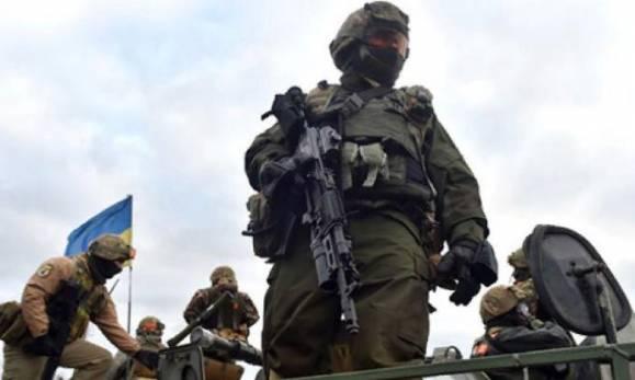 Военные Донбасса поздравили «ВСУшников» с 23 февраля (Видео)