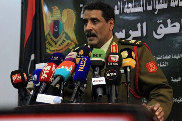 Мисмари назвал имя ответственного за террористические операции в Ливии