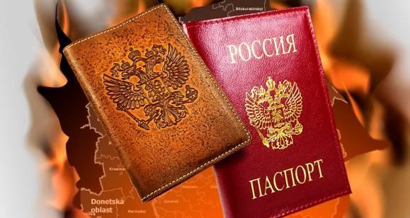 Боевик «АТО» устроил истерику, заклиная Донбасс не получать гражданство РФ (Видео)
